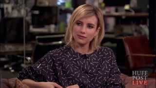 getlinkyoutube.com-Emma Roberts On Sex Scenes With James Franco