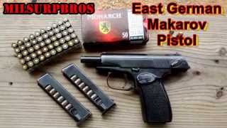getlinkyoutube.com-East German Makarov Pistol (9x18 Makarov)