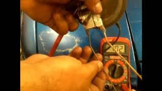 Como reparar el medidor de combustible Toyota Corolla AE86