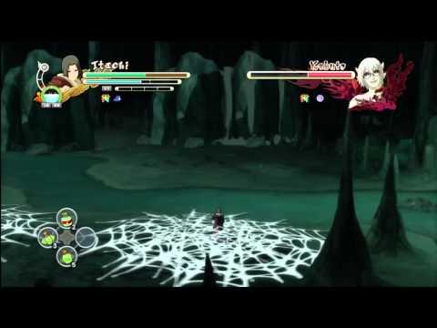 Itachi and Sasuke vs Kabuto Sage Mode 1080p HD