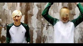getlinkyoutube.com-EXO- Baekhyun, Kai, Lay, Chanyeol  Ice Bucket Challenge