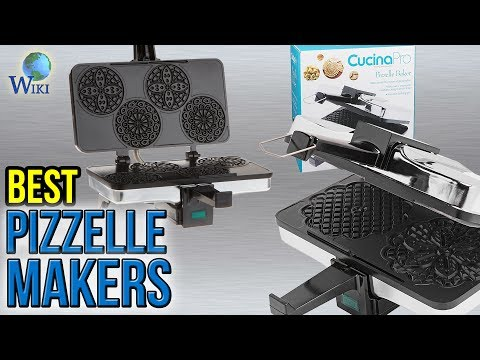 6 Best Pizzelle Makers 2017