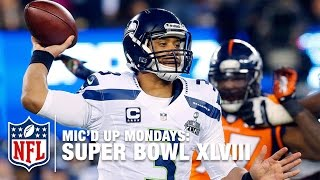 getlinkyoutube.com-Russell Wilson's Mic'd Up Super Bowl XLVIII | #MicdUpMondays | NFL