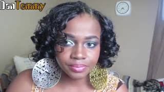 getlinkyoutube.com-The FAMOUS invisible part- Full Head Sew-in ||DanTemmy