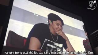 getlinkyoutube.com-[JHH][Vietsub] Phản ứng của Super Junior khi nghe tin nhắn thân mật - Super Camp 190915