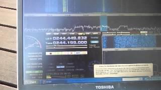 getlinkyoutube.com-UHF MIL SATCOM with 6el Yagi and cheap RTL SDR RX