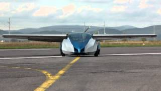 getlinkyoutube.com-Aeromobil - flying car prototype