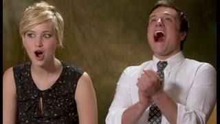 getlinkyoutube.com-Jennifer Lawrence & Josh Hutcherson talk about Pranking