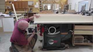 getlinkyoutube.com-Making A Crosscut Sled For Your SawStop Table Saw