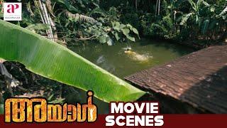 Ayal Malayalam Movie | Scenes | Lena enjoys swimming | Lal | Iniya | V Venu