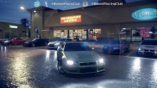 getlinkyoutube.com-Need For Speed 2015 (XB1) | Import Monster Meet | 1026HP R34 Skyline, Cruise, Highway Racing & More