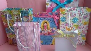 getlinkyoutube.com-Como hacer una bolsa de papel para regalo
