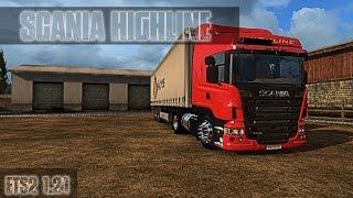 getlinkyoutube.com-Scania Highline Ets2 1.21