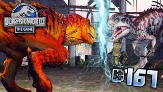 getlinkyoutube.com-Lightning Strikes!    Jurassic World - The Game - Ep 167 HD