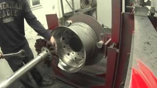 "getlinkyoutube.com-Evan's Detailing and Polishing ""The Maverick ES"" Wheel polishing machine."