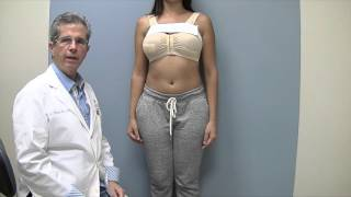 getlinkyoutube.com-Breast Augmentation with silicone implant, using the Keller Funnel