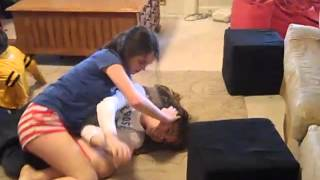 getlinkyoutube.com-Bailey and Austin Wrestling
