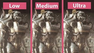getlinkyoutube.com-Fallout 4 – PC Low vs. Medium vs. High vs. Ultra Detailed Graphics Comparison