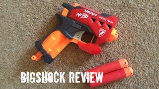 getlinkyoutube.com-Nerf N-Strike MEGA BigShock Unboxing, Review & Range Test
