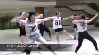 getlinkyoutube.com-130905 EXO - 으르렁 (Growl) Dance Cover by Fanatic