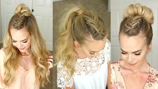 getlinkyoutube.com-Dutch Fishtail Mohawk  Braid | Missy Sue