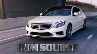 "Mercedes S550 24"" Forgiato GTR"