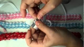 getlinkyoutube.com-Braided Ribbon
