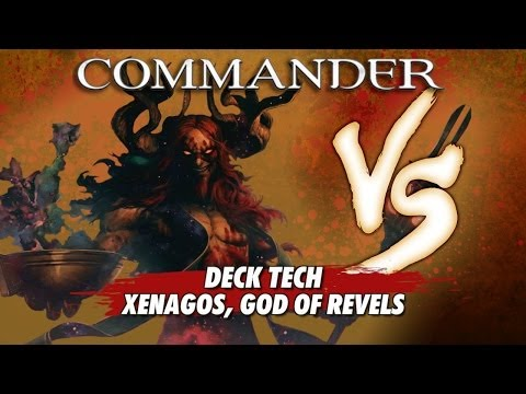 Commander Versus Series: Deck Tech - Xenagos, God of Revels with David McDarby