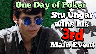 The day that Stu Ungar won his third WSOP Main Event