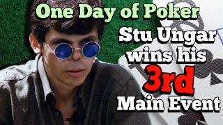 The day that Stu Ungar won his third WSOP Main Event