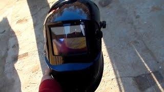 getlinkyoutube.com-Обзор сварочной маски хамелеон Forte МС-8000