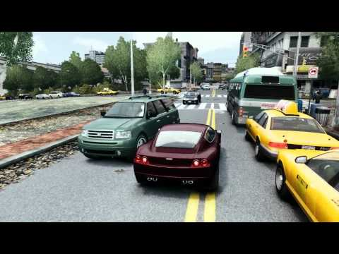 GTA 4 ENB ultra graphics gameplay : part 2