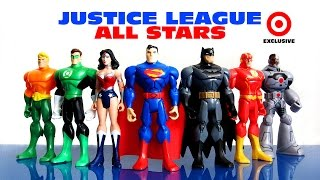 getlinkyoutube.com-Justice League All Stars New 52 Target Exclusive (HD) Toy Review