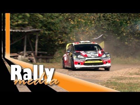 WRC ADAC Rallye Deutschland 2012 (HD - pure sound)