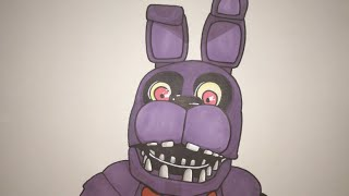 getlinkyoutube.com-How To Draw Bonnie From Five Nights At Freddy's Step By Step