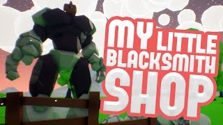 getlinkyoutube.com-My Little Blacksmith Shop - Iron Weapons, Rock Beasts & Crystal Secrets! - MLBS Gameplay Pt 2