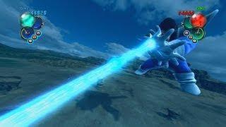 getlinkyoutube.com-Dragonball Z Ultimate Tenkaichi Mod - Great Ape Vegeta's Kamehameha & Spirit Bomb