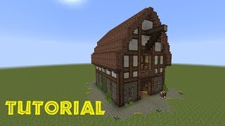 getlinkyoutube.com-Minecraft Tutorial - Eine Scheune bauen