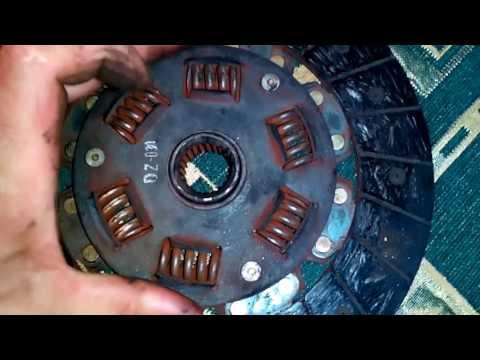 Не исправный диск сцепления fe3n
