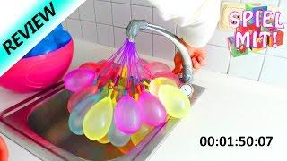 getlinkyoutube.com-Welche Ballons sind schneller gefüllt? Wasserbomben Vergleich | Wasserbomben füllen