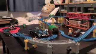 getlinkyoutube.com-プラレールきかんしゃトーマス  線路改良5 Thomas & Friends Trackmaster