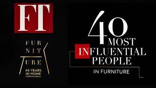 Manuel Capó reconocido entre las 40 personas influyentes en la industria de muebles
