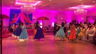 getlinkyoutube.com-Suchi and Arjun's Sangeet - Bridesmaids Dance