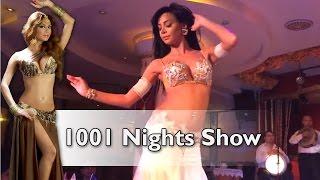 getlinkyoutube.com-Belly Dancer Didem at Sultana's 1001 Nights Show