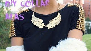 getlinkyoutube.com-DIY collar alas