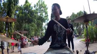 getlinkyoutube.com-Remember of today - Hilang (Aldi drum cover)