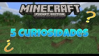 getlinkyoutube.com-5 Curiosidades de Minecraft Pocket Edition