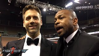 """getlinkyoutube.com-Roy Jones & Max Kellerman """"Forget the catchweight crap, you got the title at 160, lets fight!"""""""