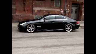 getlinkyoutube.com-MEC Design W219 CLS500 CLS55AMG MEC Design Bodykit + MEC Design wheels 11+12 satin black