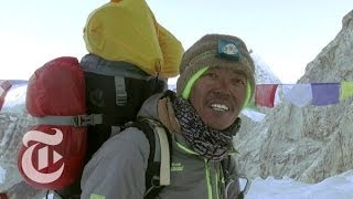 getlinkyoutube.com-Last Minutes on Mount Everest | The New York Times